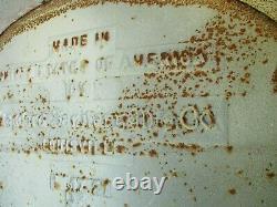 Antique 20's Standard Sanitation Co Louisville Freestanding Cast Iron Bathtub