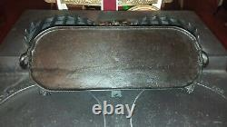 Antique & Very Early 1889 FOLEY SUGRUE &EVANS Cast Iron Triple Pancake Griddle
