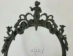 Antique Victorian- 3 Charities / Graces Greek Mythos- Goddess-Art Nouveau-Frame