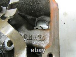 Bbc Chevy 396 427 454 Oval Port Heads 049 Cast C10 Chevelle Ss Ls5 Monte Camaro