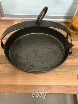 Cast Iron Gypsy Romany Scotch Oval Fish Pan Traveller Pot
