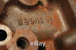 Chevy 3904390 Big Block Cylinder Heads 98cc Oval port L-34 L-35 L-36 396 427