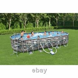 Coleman 26' x 52 Power Steel Pool Set & Pump SHIPPED with FEDEX 2 DAY SHIPPING
