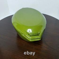 Copco Michael Lax Denmark Green Enamel Cast Iron Oval Dutch Oven Vintage MCM