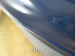 Extra Large Le Creuset Cast Iron 15 1/2 quart Oval Dutch Oven, Marseille, NIB