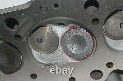 GM 336781 Big Block Chevy Oval Port Cast Iron Cylinder Heads Open Chamber