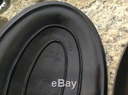 GRISWOLD. OVAL SKILLET. 15. With matching lid No. 1013