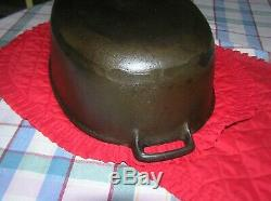 Griswold Antique Cast Iron Oval Roaster # 5, Slant Logo 2629 Cleaned & Seasoned