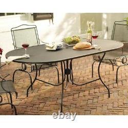 Jackson Oval Patio Dining Table