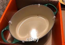 Juniper 3.5 Qt #25 LE CREUSET Cast Iron Signature Oval Dutch Oven