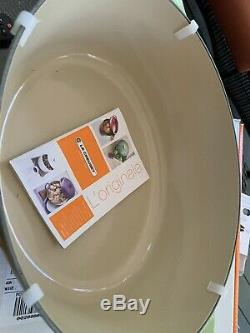 LE CREUSET #33 Exquisite Palm Green Color Oval Dutch Oven 8 QT New In Box
