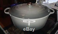 Le Creuset 15 1/2 Qt. Signature Oval Dutch Oven flint/Oyster
