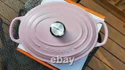 Le Creuset 3.5 Qt Oval Dutch Oven Sugar Pink Matte Pink Cast Iron
