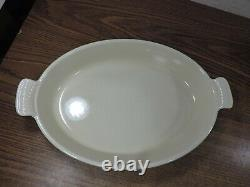 Le Creuset #36 Green Oval Cast Iron Baking Dish