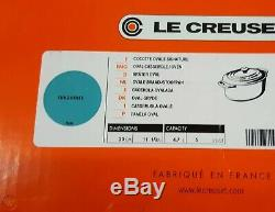 Le Creuset 5 Quart Oval French Dutch Oven Enameled Cast-iron #ls2502-294t