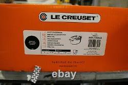 Le Creuset 9.5 Qt Cocotte Ovale Casserole Oven with Lid Cast Iron Matt Black