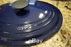 Le Creuset Blue Oval Dutch Oven 5 Quart #29