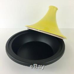 Le Creuset Cast-Iron 2.5 Quart Moroccan Tagine // Soleil Yellow // New In Box