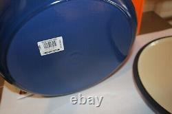 Le Creuset Classic 13 1/4 Qt Round Dutch Oven Cobalt Blue New In Box