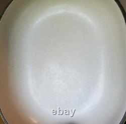 Le Creuset Enzo Mari La Mama Au Gratin #25 CHARTREUSE LIME GREEN Open Baker Pan