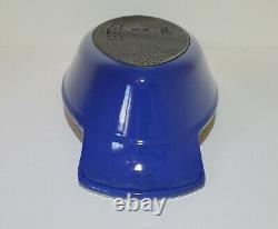 Le Creuset Fish Pan BLUE Rare Color EXCELLENT #30 Enameled Cast Iron Au Gratin