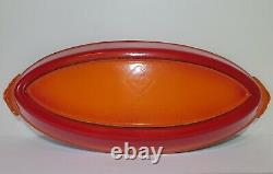 Le Creuset Fish Pan EXCELLENT #40 Enameled Cast Iron Au Gratin Dish