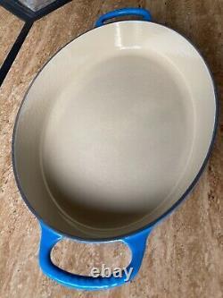 Le Creuset LARGE 3qt Marseille Cast Iron Oval Baker