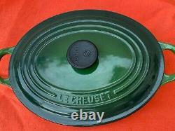 Le Creuset Signature Cast Iron 2.75 Quart Oval Dutch Oven Artichoke