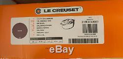 Le Creuset Signature Cast Iron 25cm Oval Casserole Cassis (BNIB)