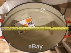 Le Creuset Signature Cast Iron 40CM Oval Casserole Cerise (BNIB)