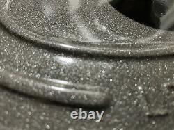 Le Creuset Signature Cast Iron 6.75-qt Oval Dutch Oven, Midnight Grey, Gray