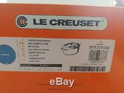 Le Creuset Signature Cast Iron 8 Quart Oval Dutch Oven, Marseille NEW