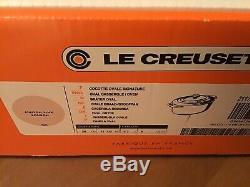 Le Creuset Signature Cast Iron Oval Dutch Oven Chiffon Pink 5 Qt 29 New In Box