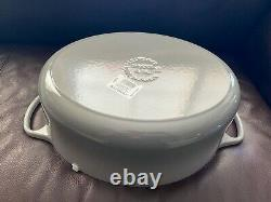 Le Creuset Signature Enameled Cast Iron Oval Dutch Oven, 9 1/2-Qt, French Grey