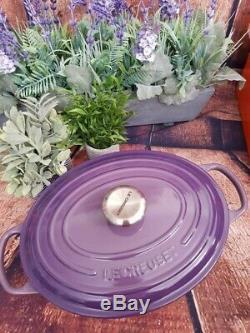 Le Creuset Signature Oval Ultraviolet Dutch Oven