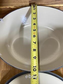 Le Creuset Soleil Yellow Oval Cast Iron/Dutch Oven 8 Qt (33cm) New Open Box