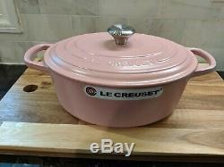 Le Creuset Sugar pink Matte Signature 3.5 qt oval dutch oven cast iron 25 cm