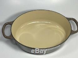 Le Creuset Truffle Brown 3.5 Quart Cast Iron Oval Dutch Oven New In Box