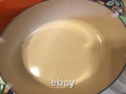 Le Creuset oval Castiron Dutch Oven 6.75 Quart #26 Rosemary Green-NIB