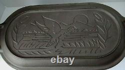 Lodge Cast Iron Deep Fish Fryer 3093 Sportsman Wildlife Mallard Duck LID VARIANT
