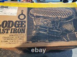 Lodge Sportsman Grill, Duck Door, Vintage, Refurbished, Excellent Condition