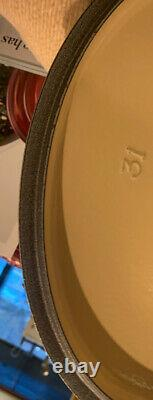 NEW Le Creuset Signature Cast Iron Oval Dutch Oven 6.75 Quart # 31 French Grey