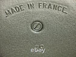 NOMAR Vintage Enamel Cast Iron Dutch Oven Oval Pot Made in France 29