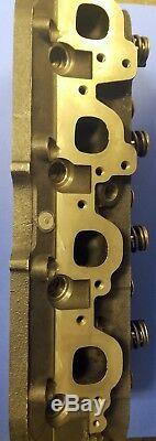 New Gm Marine Bbc 7.4 454 Oval Port Conversion Cylinder Head Cast#236 360 045