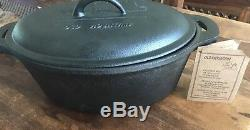 Old Mountain Cast Iron Casserole Dish PreSeasoned -(New)