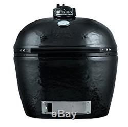 Primo 778 Extra-Large Oval Ceramic Charcoal Smoker Grill Outdoor Cooking