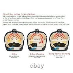 Primo Oval LG 300 Ceramic Kamado Grill Charcoal/Smoker