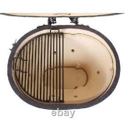 Primo Oval XL 400 Ceramic Kamado Grill Charcoal Grill/Smoker