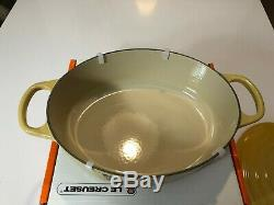 QUINCE-Le Creuset Signature 3.5 Qt Oval Enameled Cast Iron- New in Box