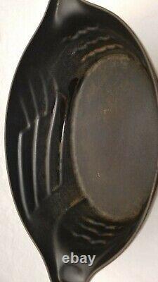 Rare Staub 5 Qt Cast Iron Enamel Cocotte Hen Chicken Dutch Oven Unusual